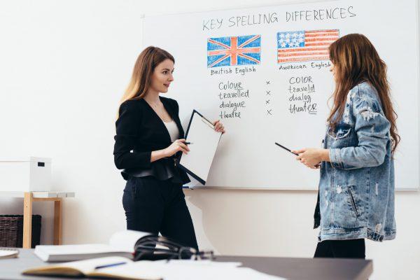 アメリカ英語,イギリス英語の違い